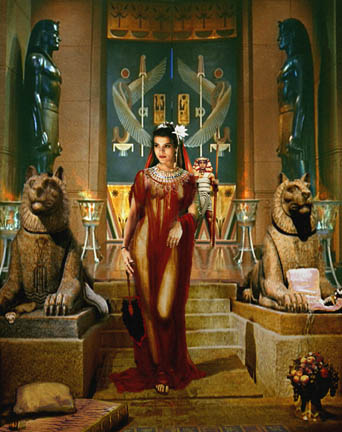 Queen Cleopatra of Egypt